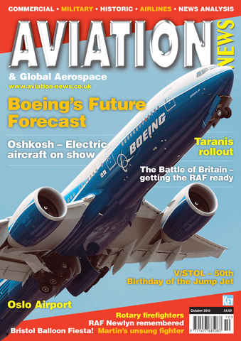 Aviation News issue October 2010