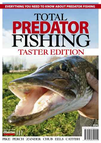 Fishing Reads issue Total Predator Fishing - TASTER