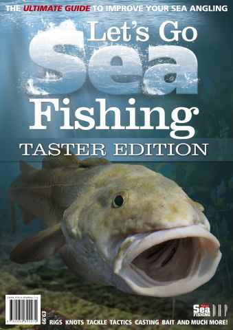 Fishing Reads issue Lets Go Sea Fishing - TASTER