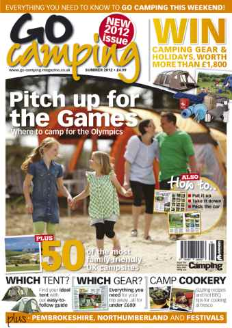 Go Camping issue Summer 2012