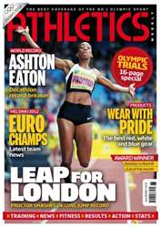 Athletics Weekly issue AW June 28 2012