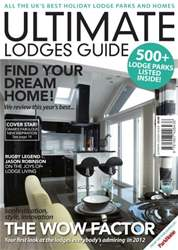 Ultimate Lodges Guide issue Ultimate Lodges Guide 2012