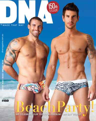 DNA Magazine issue #150 - The Party Issue