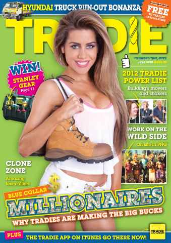 Tradie issue TRADIE JULY 2012