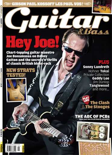 Guitar & Bass Magazine issue August 2012 Hey Joe