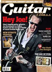Guitar & Bass Magazine issue August 2012 Hey Joe