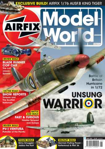 Airfix Model World issue August 2012