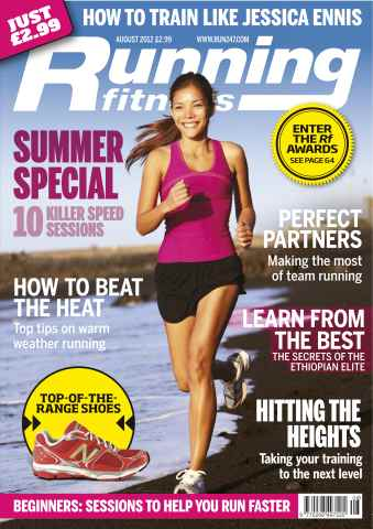 Running Fitness issue Beat The Heat August 2012