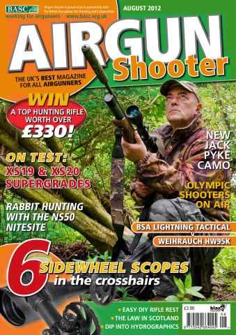 Airgun Shooter issue August 2012