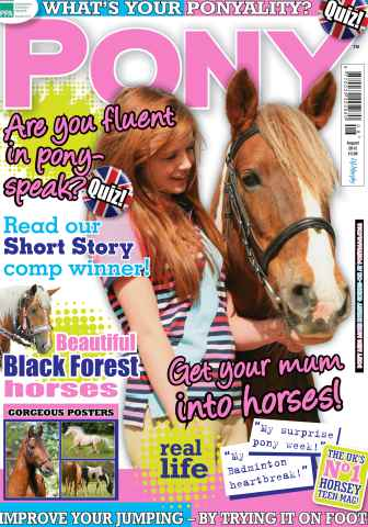 Pony Magazine issue August 2012