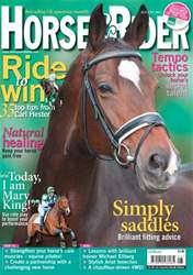 Horse&Rider Magazine - UK equestrian magazine for Horse and Rider issue August 2012