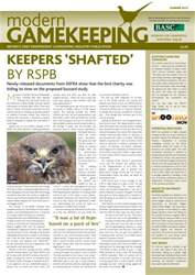 Modern Gamekeeping issue SUMMER 2012