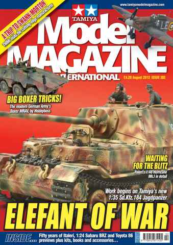 Tamiya Model Magazine issue 202