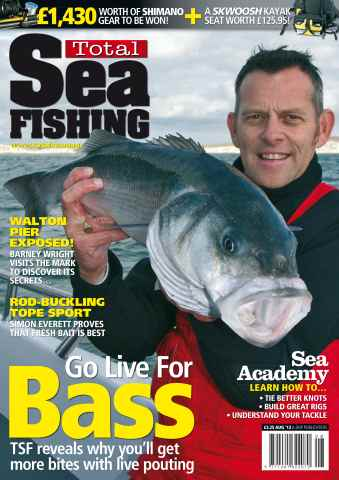 Total Sea Fishing issue August 2012