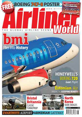 Airliner World issue August 2012
