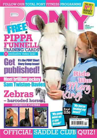 Pony Magazine issue April 2011
