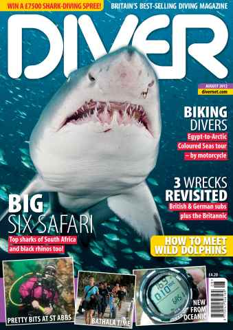 DIVER issue August 2012