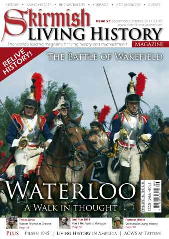 Skirmish Living History issue Issue 91 Sept-Oct 2011