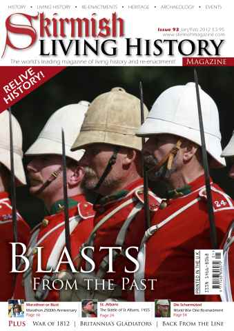 Skirmish Living History issue Issue 93 Jan-Feb 2012