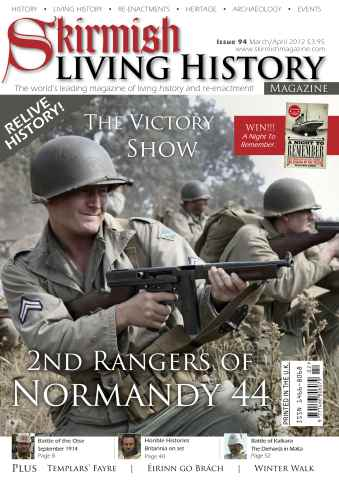 Skirmish Living History issue Issue 94 Mar-Apr 2012