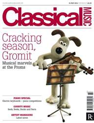Classical Music issue Classical Music 14th July 2012