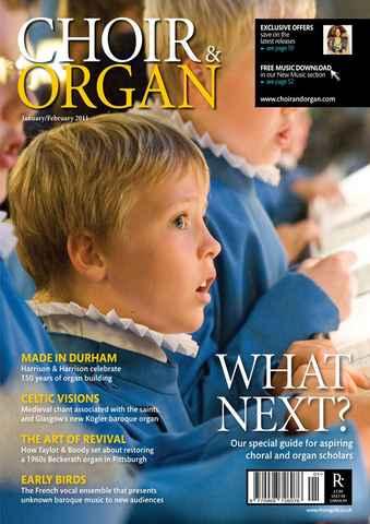 Choir & Organ issue Jan-Feb 2011