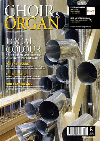 Choir & Organ issue Sep-Oct 2010