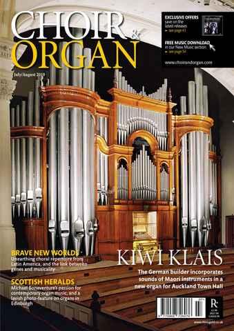 Choir & Organ issue Jul-Aug 2010