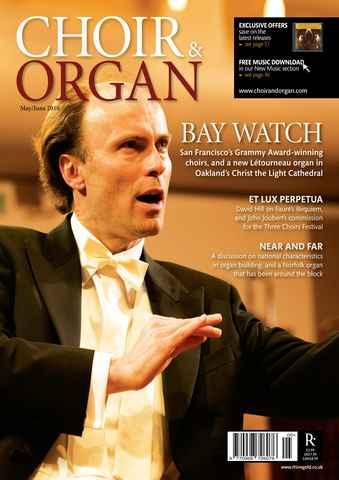 Choir & Organ issue May-Jun 2010