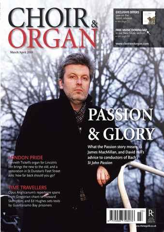Choir & Organ issue Mar-Apr 2010