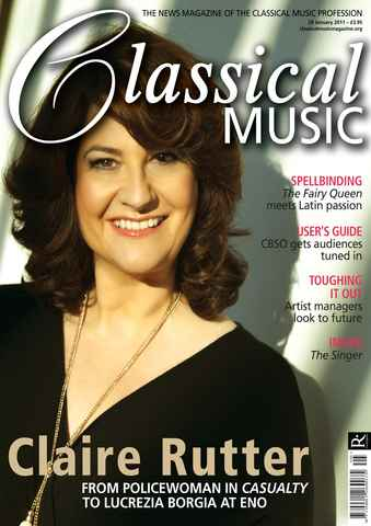 Classical Music issue January 29th 2011