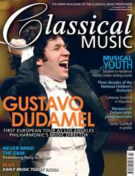 Classical Music issue January 15th 2011