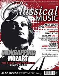 Classical Music issue December 4th 2010
