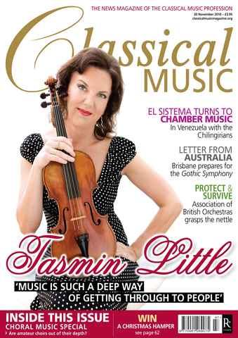 Classical Music issue November 20th 2010