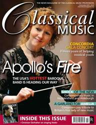 Classical Music issue November 6th 2010