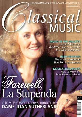 Classical Music issue October 23rd 2010