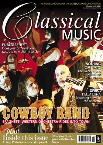 Classical Music issue October 9th 2010