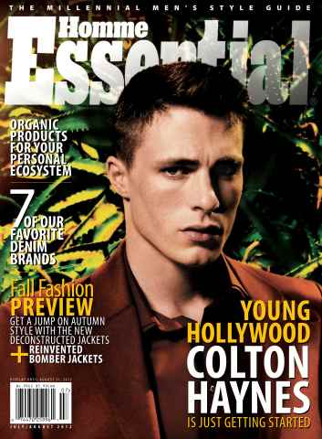 Essential Homme issue July-August 2012