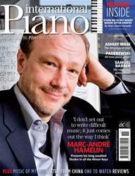 International Piano issue Nov-Dec 2010