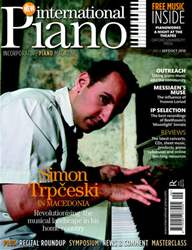 International Piano issue Sep-Oct 2010