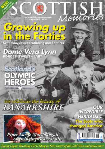 Scottish Memories issue August 2012