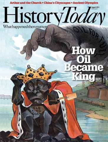 History Today issue August 2012
