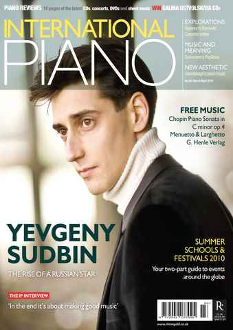 International Piano issue Mar-Apr 2010