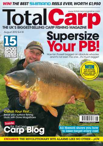 Total Carp issue August 2012