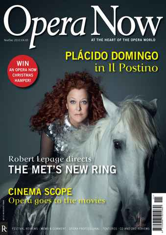 Opera Now issue Nov-Dec 2010
