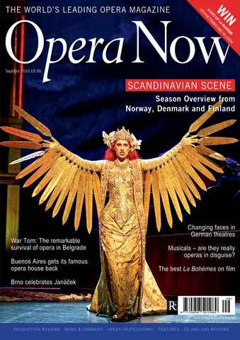 Opera Now issue Sep-Oct 2010