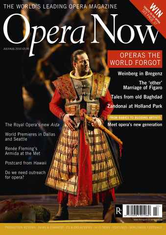 Opera Now issue Jul-Aug 2010
