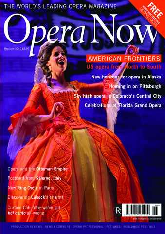 Opera Now issue May-Jun 2010
