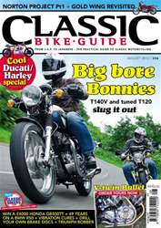 Classic Bike Guide issue August 2012