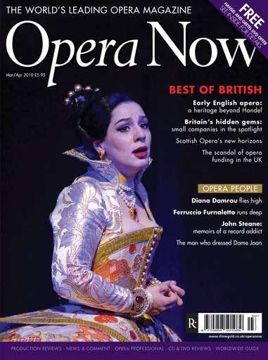 Opera Now issue Mar-Apr 2010